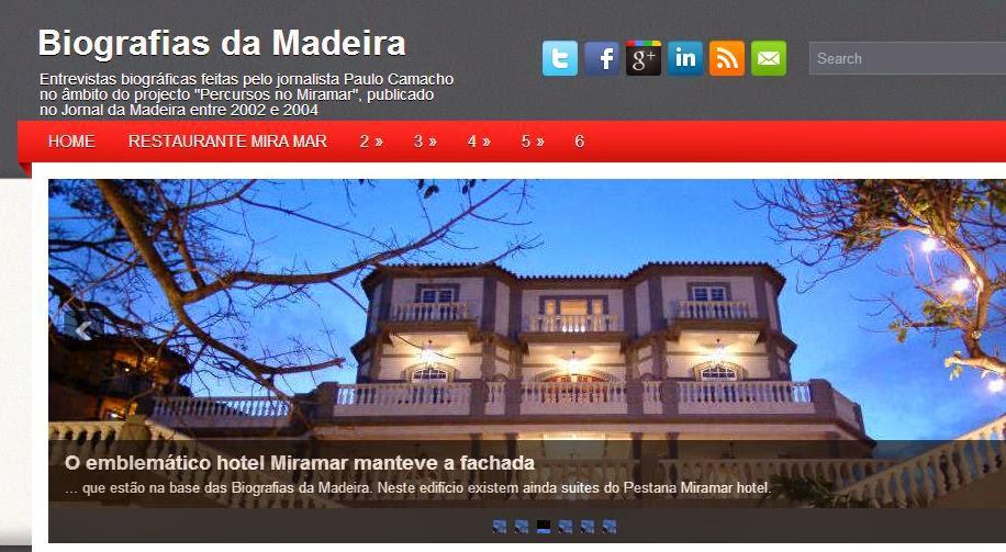 Biografias da Madeira