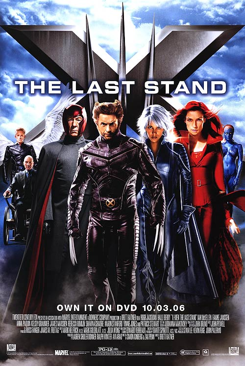 MEN  THE LAST STAND - REVIEWX Men The Last Stand