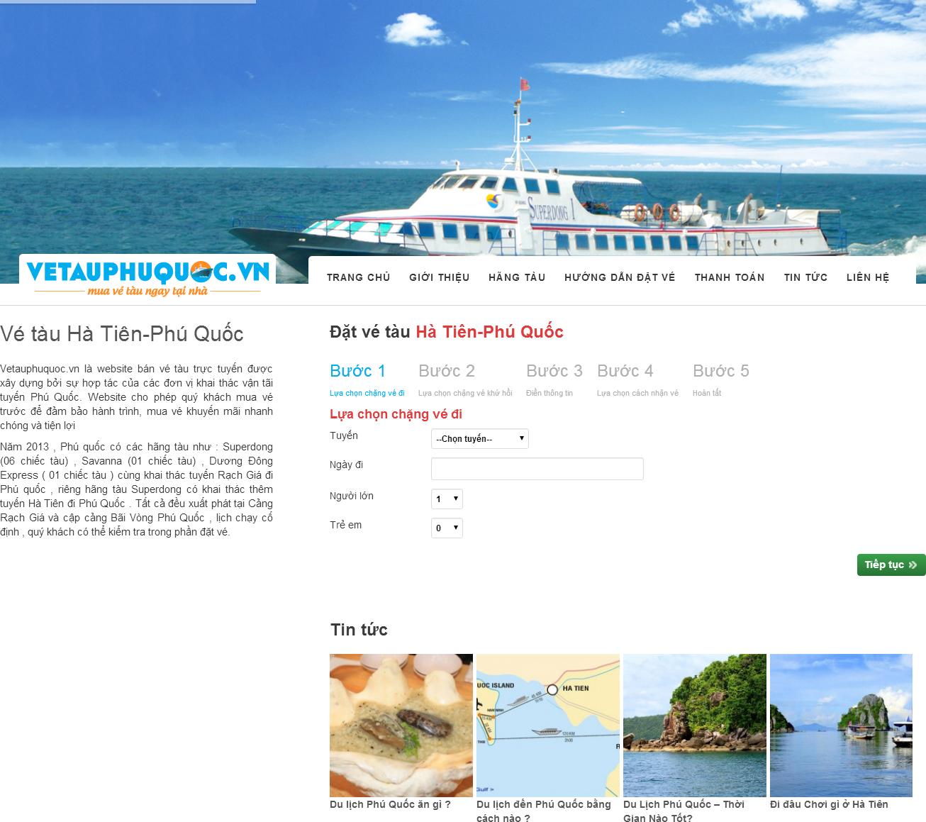 Hướng dẫn quản trị website hatienphuquoc.com.vn