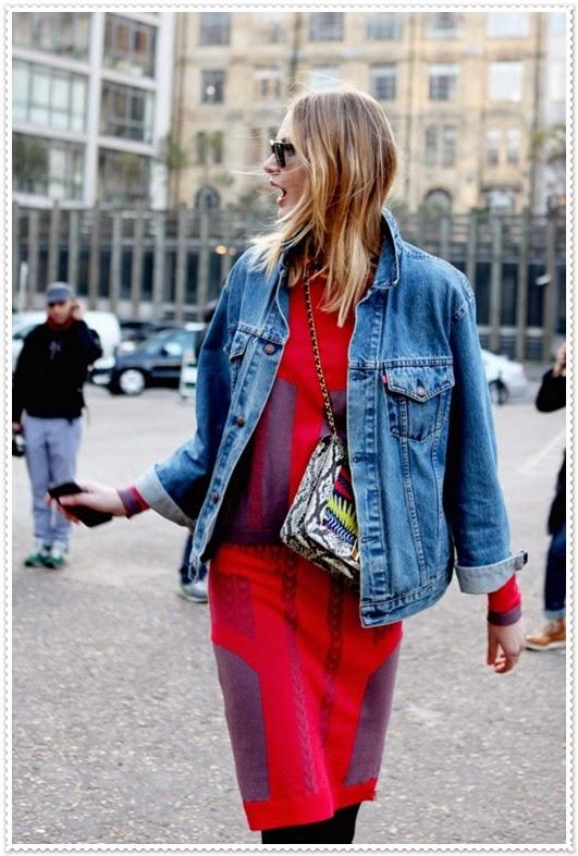 Zeitloser Eleganz mit Jean-Jacken