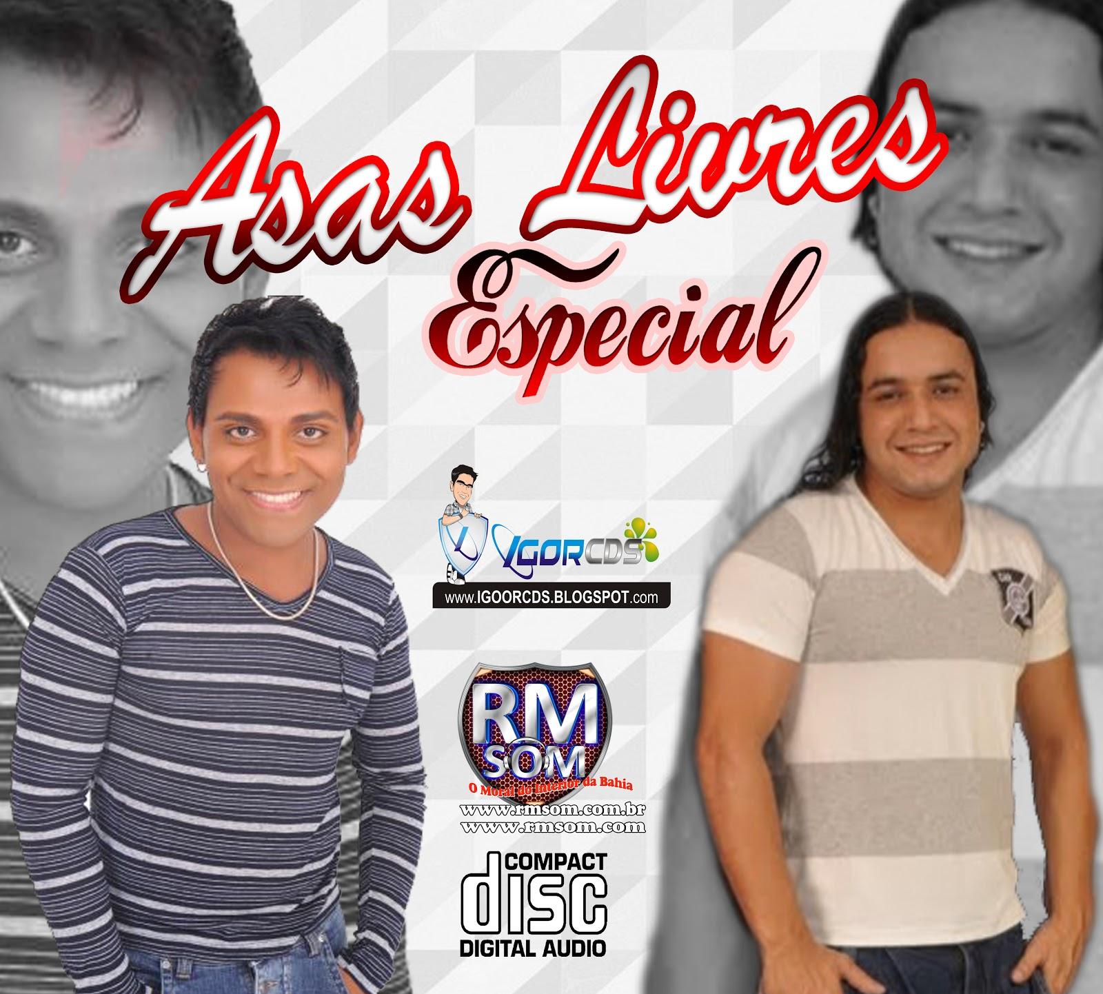 [ CD ] Asas Livres Especial - Recordações - Pablo & Alan