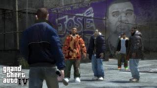 Screenshot Game  GTA 4