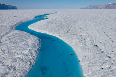 Greenland Blue River