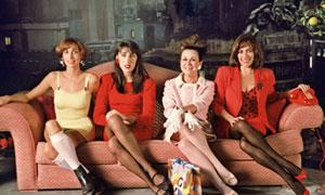 María Barranco, Rossy de Palma, Julieta Serrano y Carmen Maura en Mujeres al borde de un ataque de nervios
