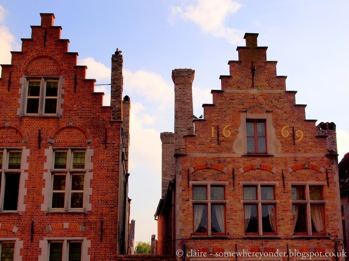 Bruges, Belgium in Autumn - architecture