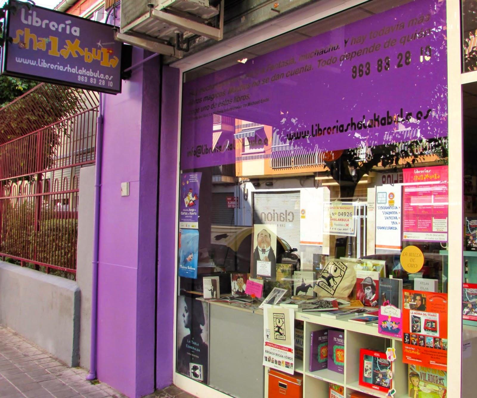 Shalakabula: librería de barrio con mucho encanto