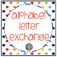 To sign-up for the Alphabet Letter Exchange click on the button below.