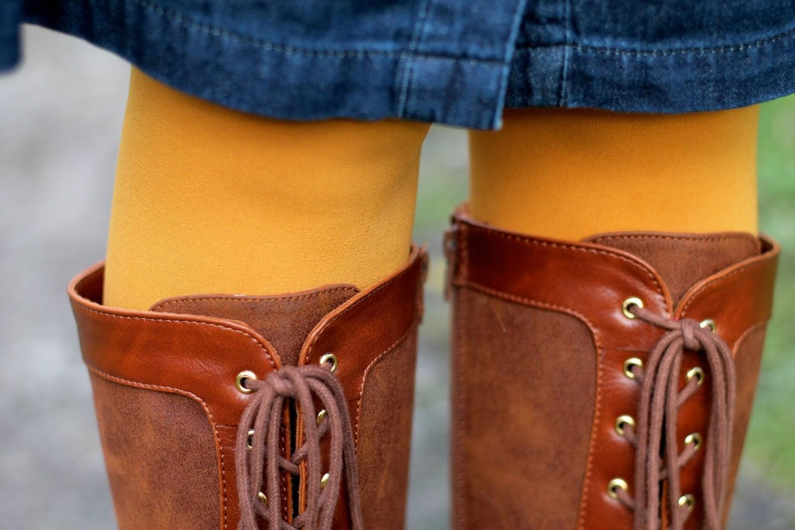 BAIT Hazel boots in tan