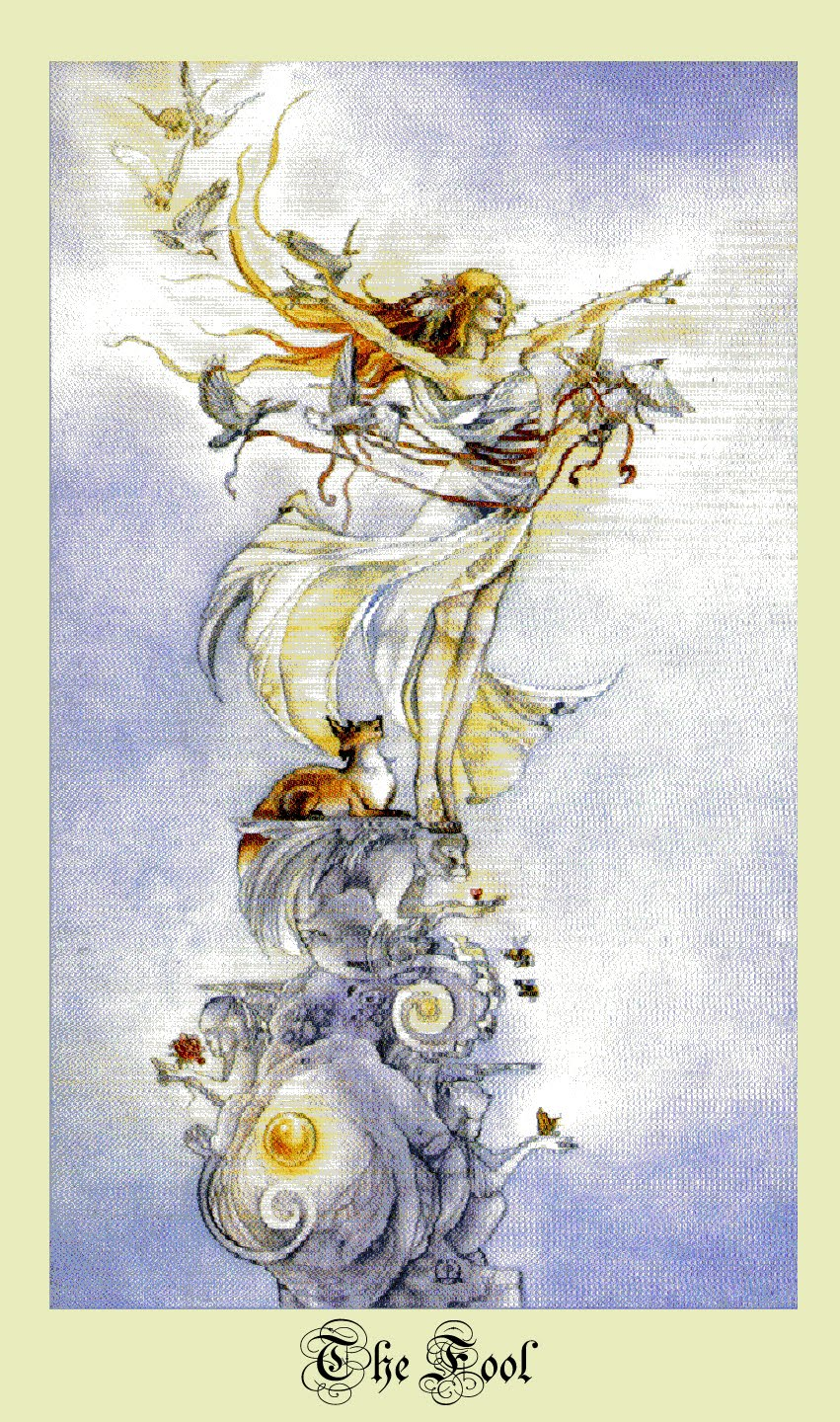 O LOUCO E O AMOR... Tarô Shadowscapes Companion
