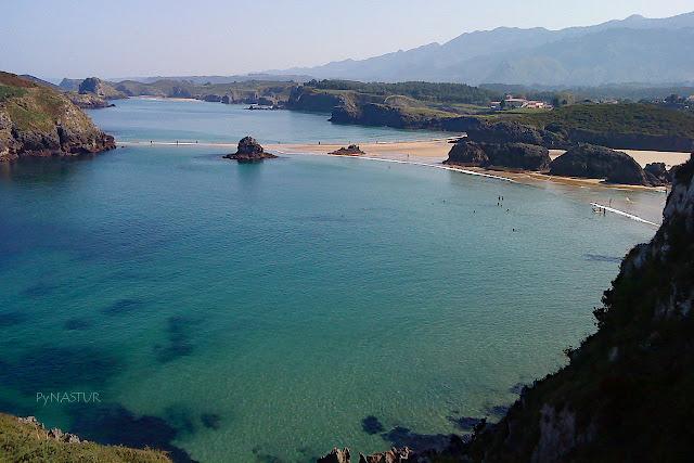 Playa de Borizu - Senda Costera Llanes