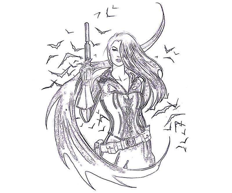 batman-arkham-talia-sketch-coloring-pages