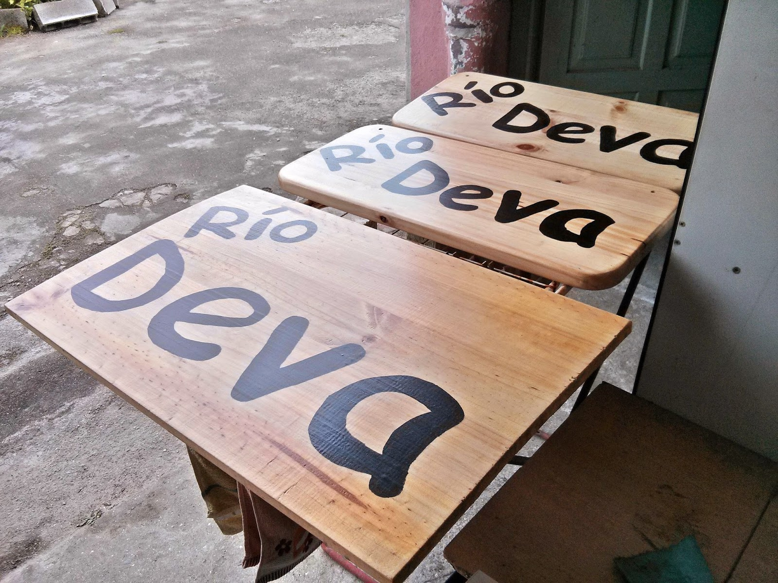 Como hacer un cartel de madera