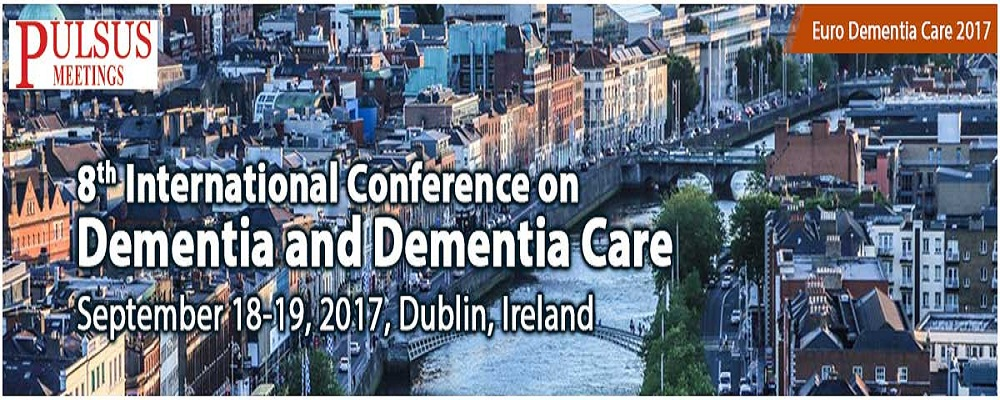 8<sup>th</sup> International Conference on Dementia and Dementia Care