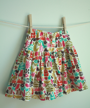 sew a skirt with shorts