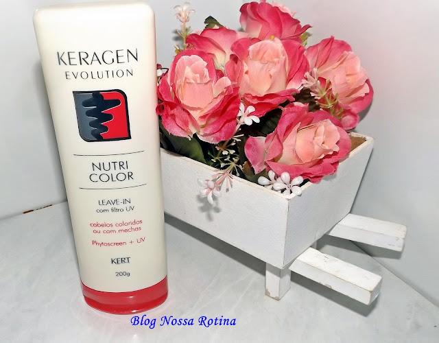 leave-in cabelos coloridos nutricolor keragen kert