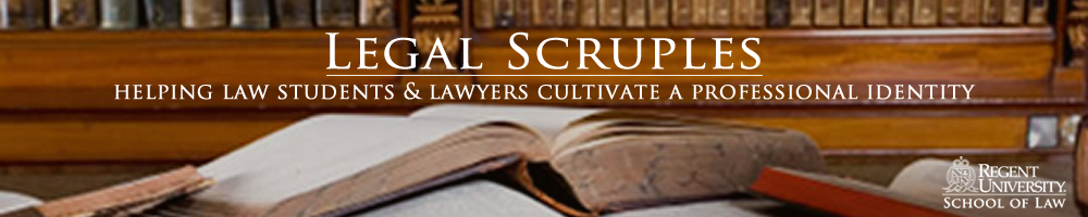 Legal Scruples:  Helping lawyers cultivate a professional identity