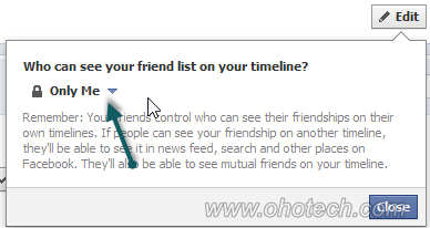 how to hide comments on facebook timeline