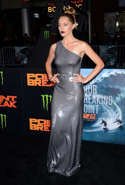 Actress, Model, @ Teresa Palmer at Point Break Premiere in Hollywood