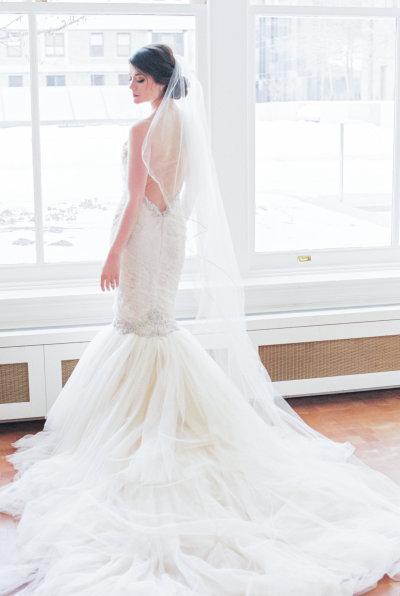 Fabulosos vestidos de novias | Diseños con escote en V