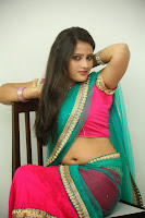 Anusha sizzling Pictures in half saree 061.JPG