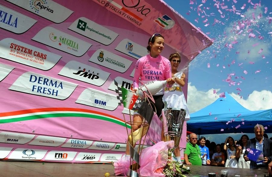 CICLISMO - Marianne Vos domina el Giro 2014