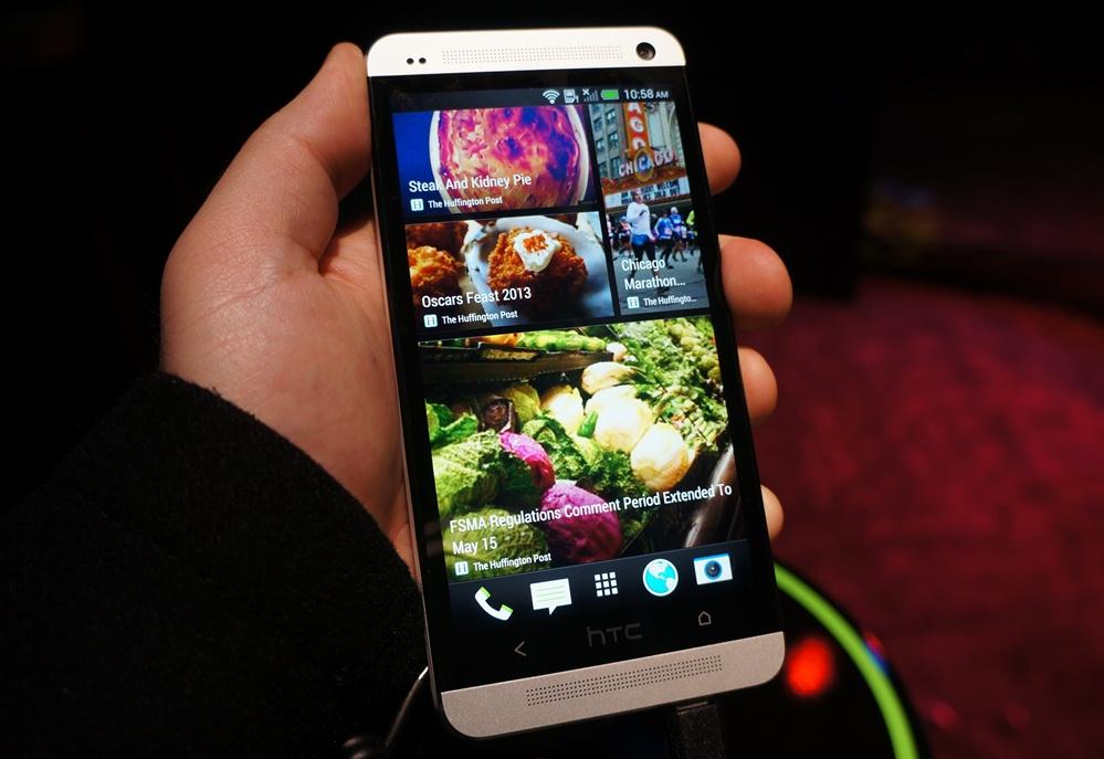 углы обзора HTC One