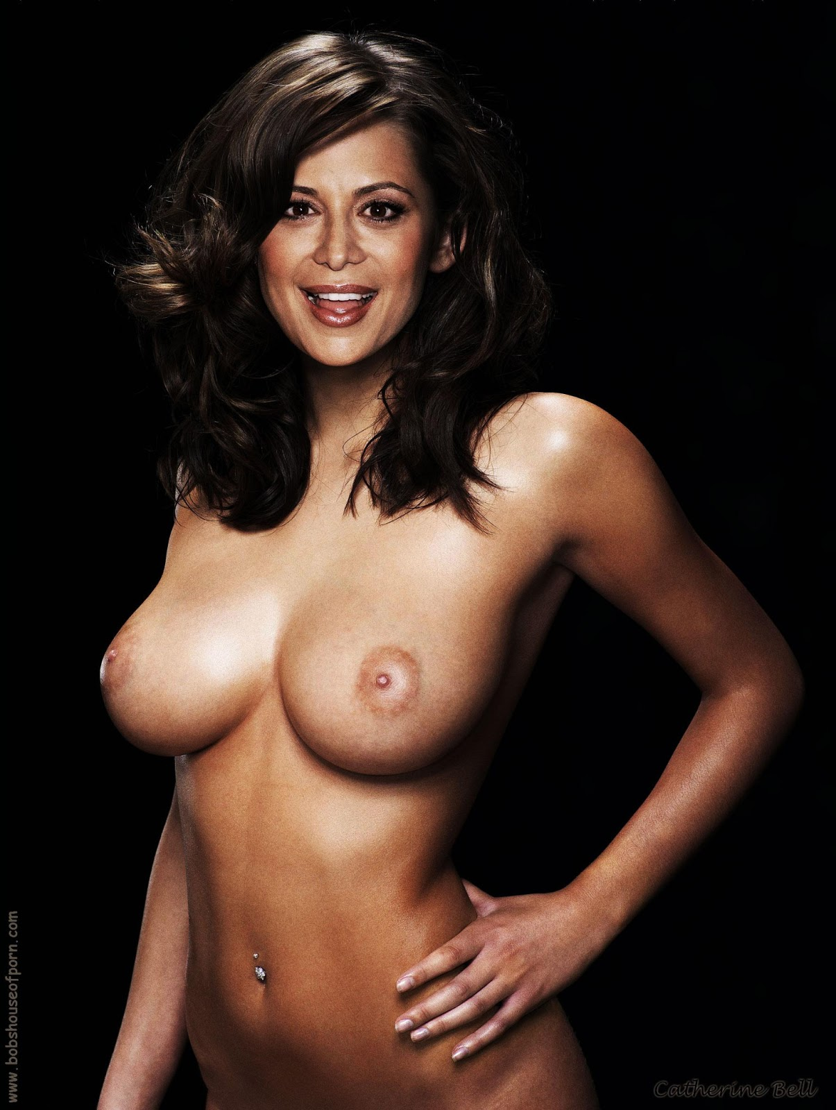 best naked pictures of catherine bell
