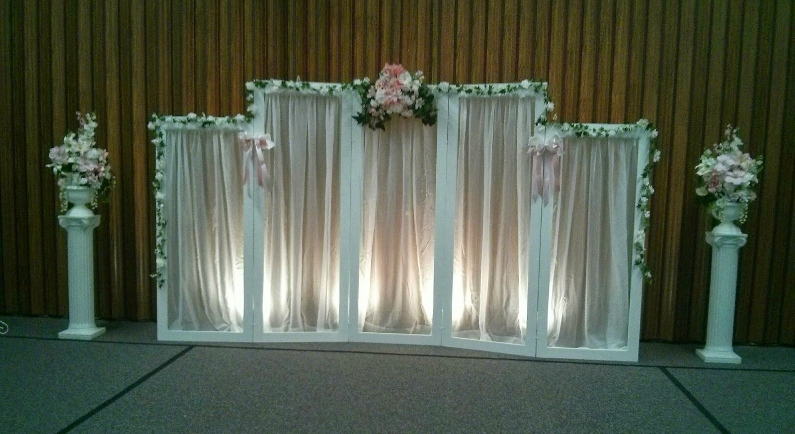 Creative wedding and party decor backdrop choices for Backdrops decoration