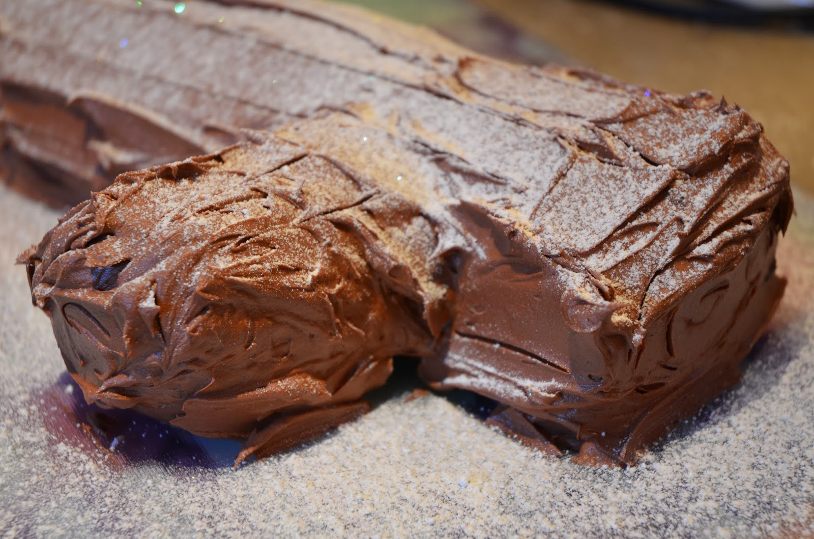 merry christmas today s offering is a very festive yule log easily my ...