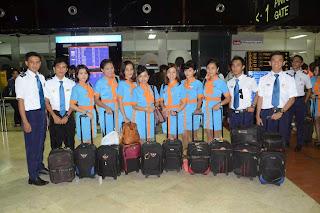 Peserta didik PSPP melakukan praktek terbang ke Singapura