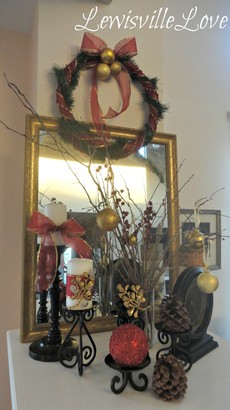 Lewisville Love: Christmas decorating