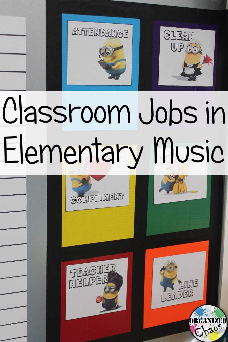 Classroom Job Ideas Elementary ~ Teacher tuesday classroom jobs in elementary music