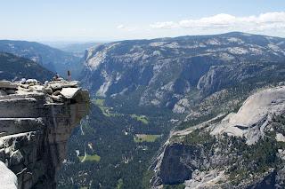 Cliche Half Dome cliff pic