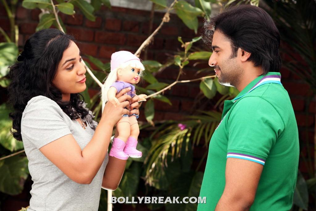 okkadine movie latest still -   Okkadine Stills - Telugu Movie 