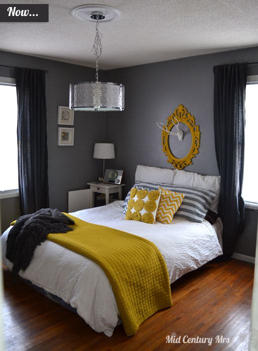 Mid Century Mrs Master Bedroom Before Amp After Tour