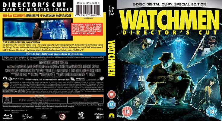 Movie Lovers Reviews: Watchmen (2009) - Richard Nixon Rules!