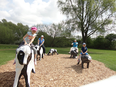 Family Fun at the Concrete Cows Milton Keynes