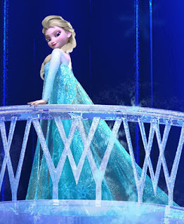 Elsa Frozen patah hati