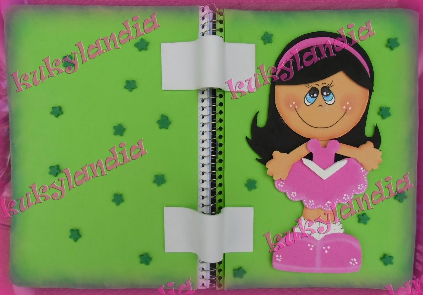 Cuaderno fofucha plana