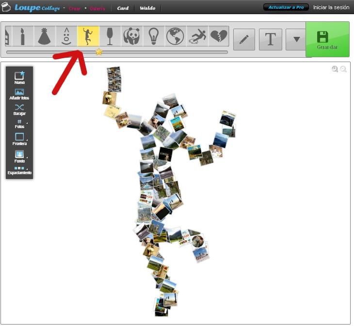 Crear fotos de mosaico 77