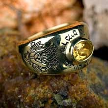 Lotus Gold Ring