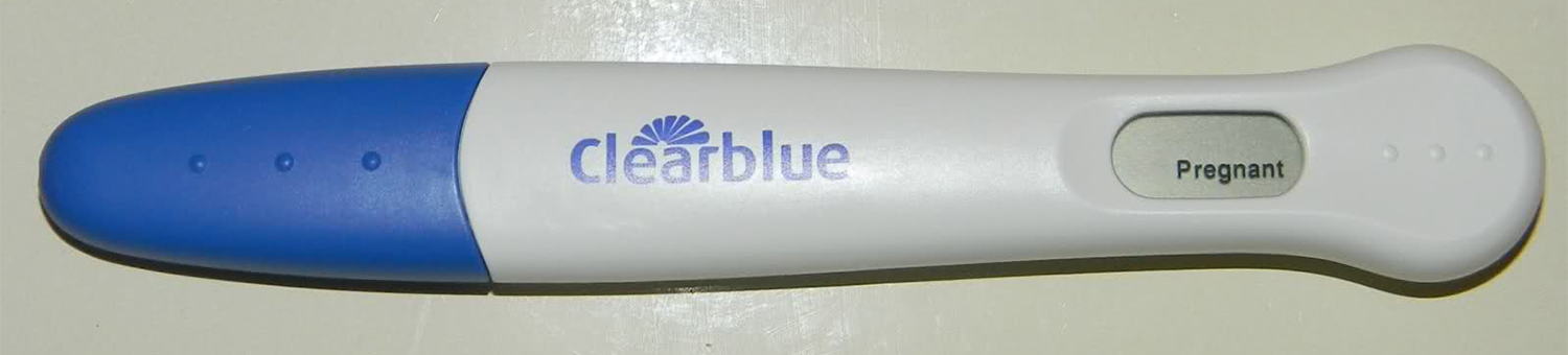 Clear Blue Negative Pregnancy Tests