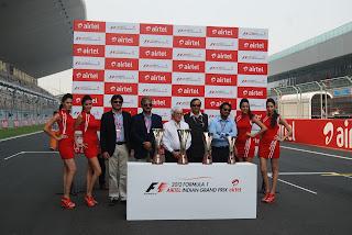 2012 F1 Airtel Indian Grand Prix Trophy