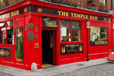 The Temple Bar en Dublin - Irlanda
