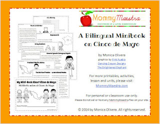 My Bilingual Cinco de Mayo Minibook