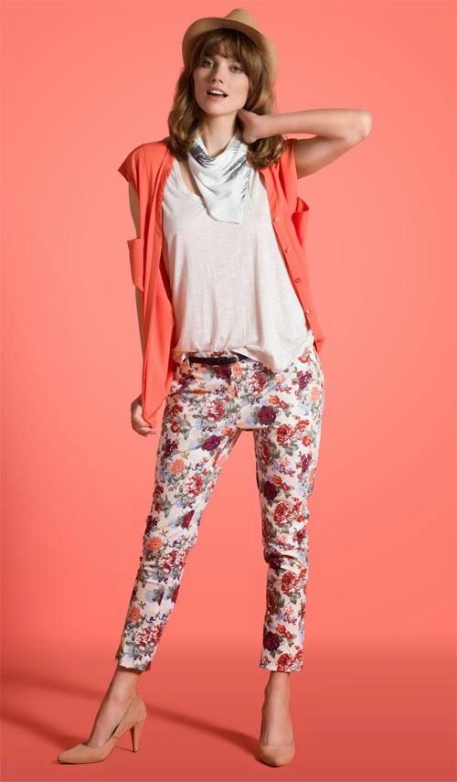pantalón estampa floral Yagmour verano 2015