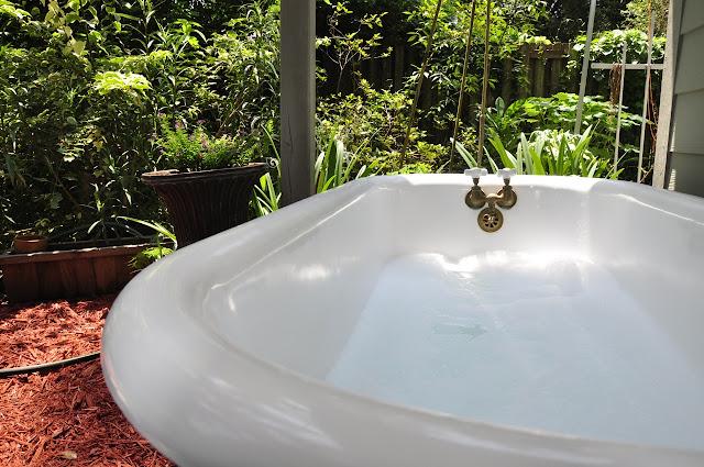 Catch Light  Diy Outdoor Bathtub