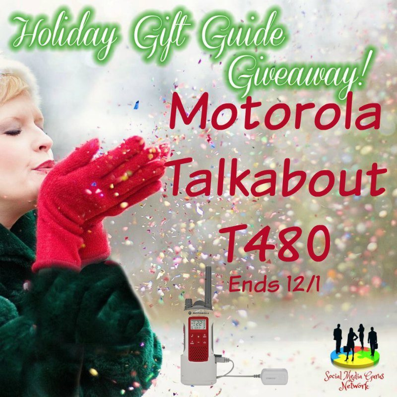 Motorola Talkabout T480 Giveaway