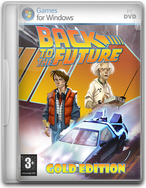 Capa Back to the Future The Game   Gold Edition   PC (2011)