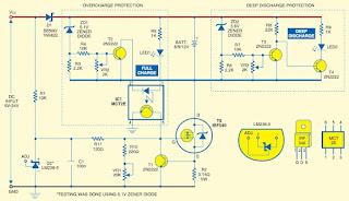 Rangkaian baterai charger arus konstan